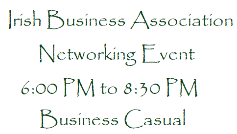 Irish Business Association Networking